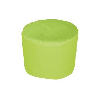 Dekorace-taburet maly detsky-zelena