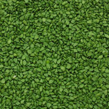 Dekoracni pisek stredni_zelena tmava