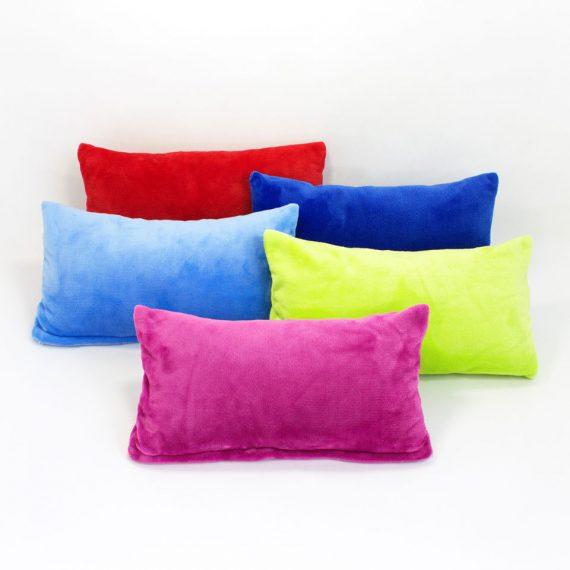Dekorace_polstar 45x25 fleece_mix barev