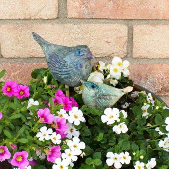 Keramika_ptaci v kvetinaci