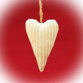 Ozdoba_Textilni srdce