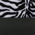 safari zebra/černá